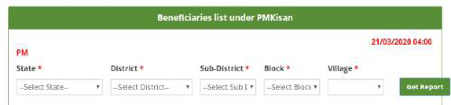 pmkisan.gov.in Portal