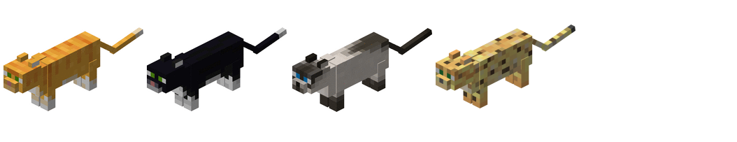 Ocelots Minecraft Minecraft ocelots and cats -