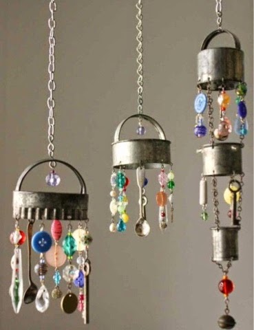 Outdoor Projects And Decor Handmade Wind Chimes - How to make home decoration items