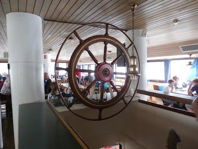 wieder an Bord der MS Wien