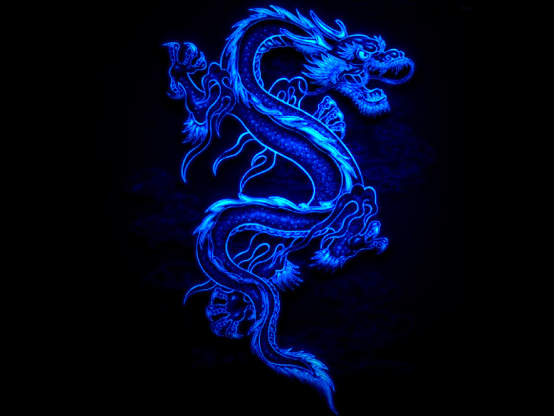 Blue Dragon Black Fire, Celtic And Druids