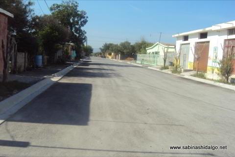 Pavimentación en colonias del norte de Sabinas Hidalgo