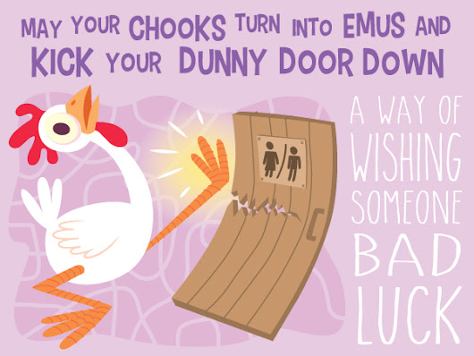 Photo  sc 1 st  Google plus & May your chooks turn into emus and kick your dunny door down\u201d - how ...
