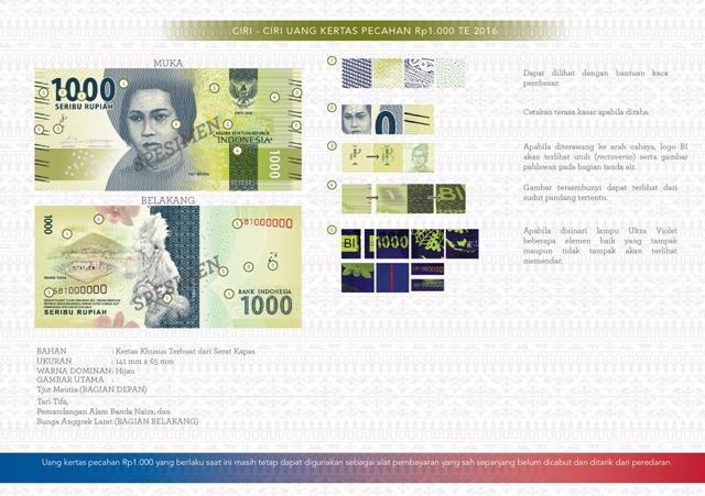uang NKRI baru Rp1000
