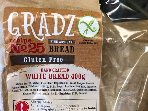 Gradz fine artisan bread packaging