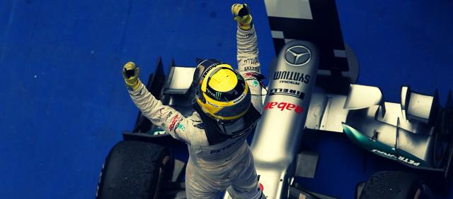 Nico Rosberg gana su primera carrera con Mercedes en China 2012