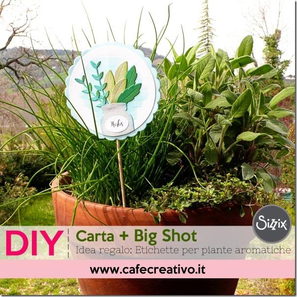 Come fare Etichette segna-piante per il vaso da regalare