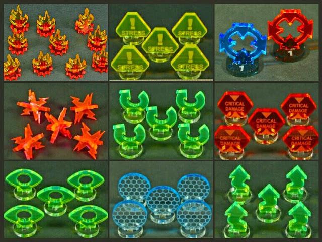 tokens 3D X-Wing Litko