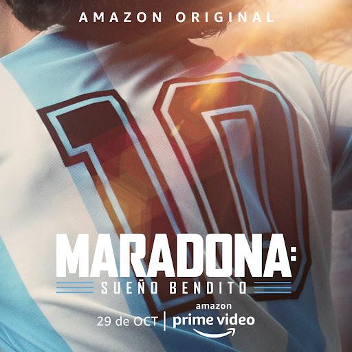 ✅ Amazon Prime Video anuncia la fecha de estreno de Maradona: Sueño Bendito