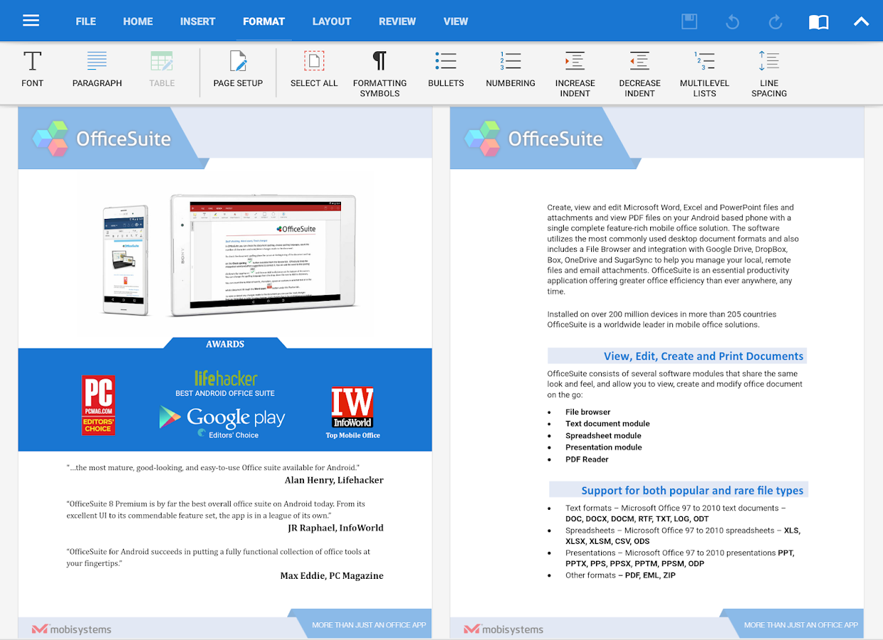 OfficeSuite Pro + PDF (Trial)- screenshot