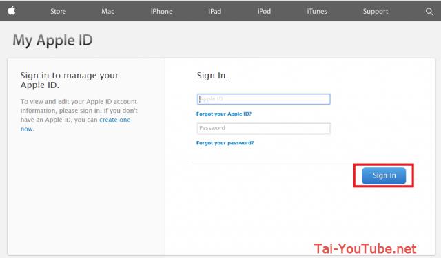 Hình 3 - Hướng dẫn cách đổi mật khẩu iCloud trên Apple ID