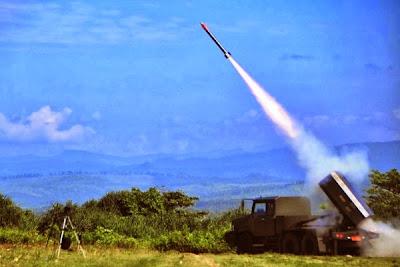 Roket R-Han 122, Uji Coba Penembakan. Prokimal Online Kotabumi Lampung Utara