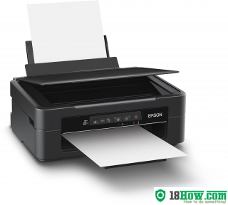 How to Reset Epson XP-217 flashing lights error