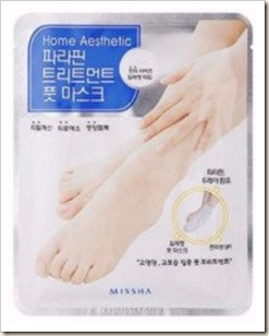 Missha Home Esthetic Paraffin Treatment Foot Mask