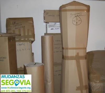 Transportes Montejo de Arévalo Segovia
