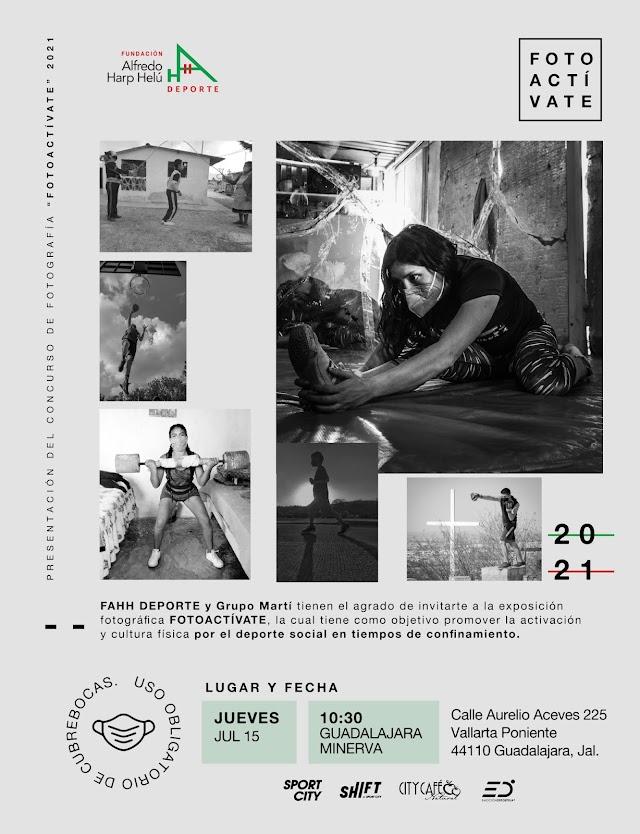 """FUNDACIÓN ALFREDO HARP HELÚ (AHH para el Deporte ) Y GRUPO MARTÍ A TRAVÉS DE SPORT CITY PRESENTAN LA EXPOSICIÓN FOTOGRÁFICA """"FotoACTÍVATE"""""""