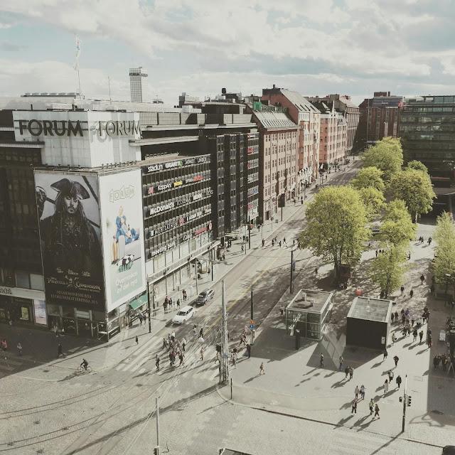 Helsingin keskusta, Ravintola Loiste / Matkablogi Lähinnä Kauempana