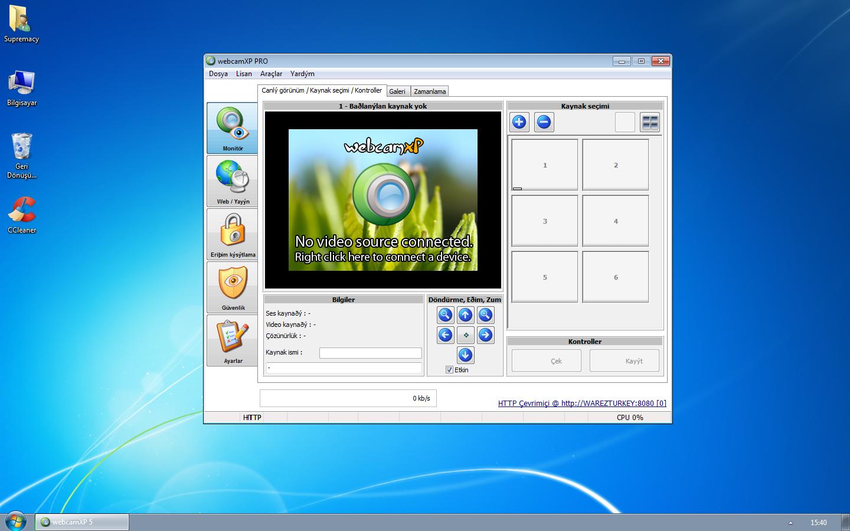 WebcamXP Pro 5.9.8.0 Build 39980 Türkçe