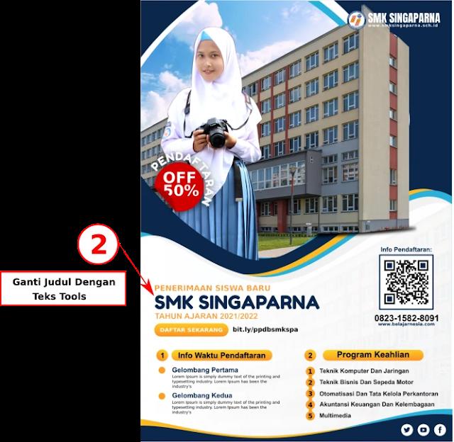 Download Brosur Penerimaan siswa baru SMK Gratis  Download Brosur Penerimaan siswa baru SMK Gratis