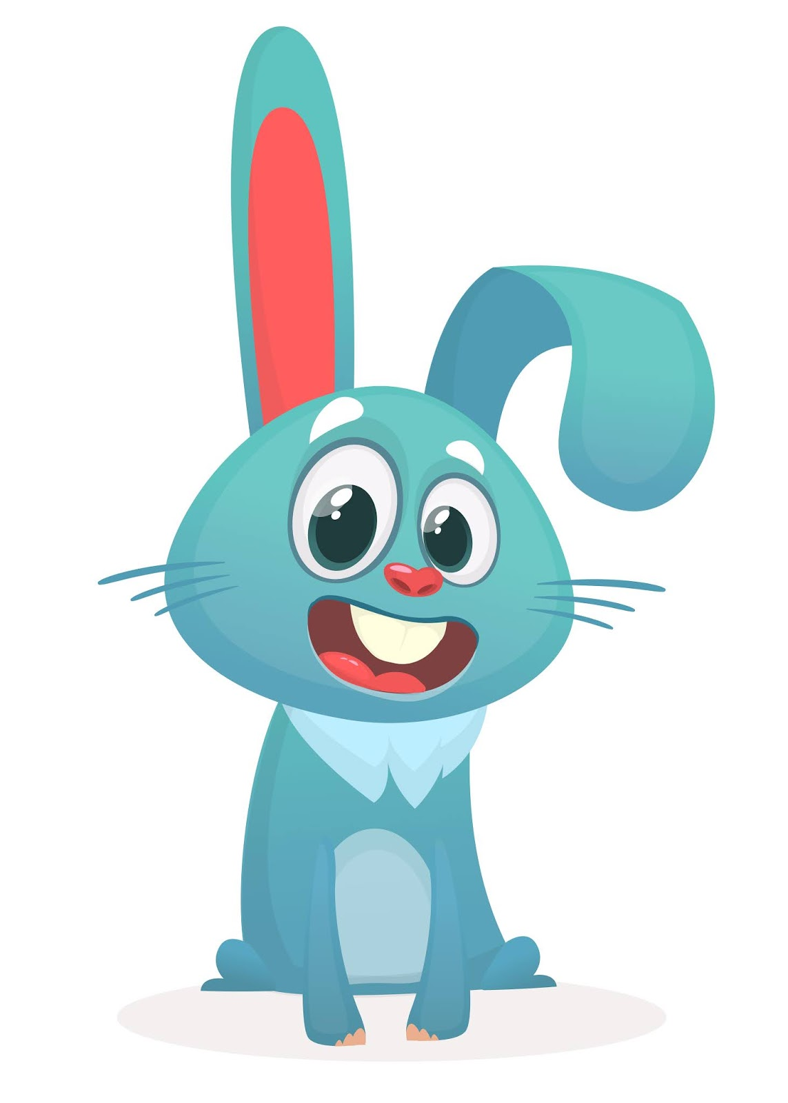 Cartoon Bunny Rabbit Style Free Download Vector CDR, AI, EPS and PNG Formats