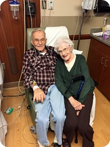 Dad's hospital stay