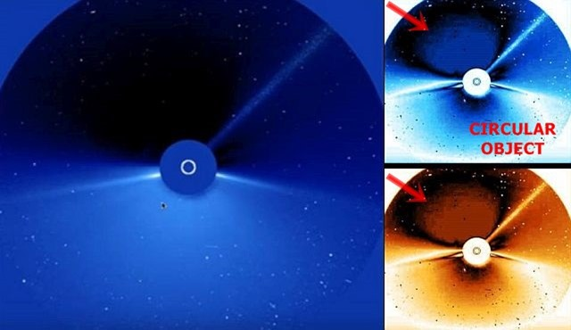 Satélite da NASA capturou o misterioso Planeta Negro Rahu na escuridão atrás do Sol