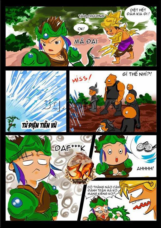 Cười ngả nghiêng với truyện tranh Củ Hành 2
