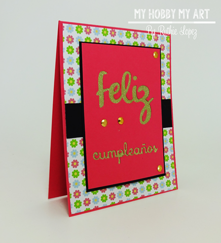Latina Crafter, Latinas Arts and Craft, Blog Hop de Primavera, Ruthie Lopez 3