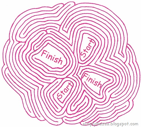 Maze Number 86: Finger Tips