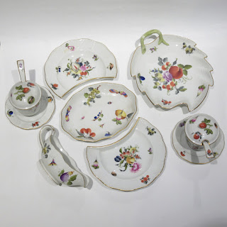 Herend Fruits & Flowers Lot of 9