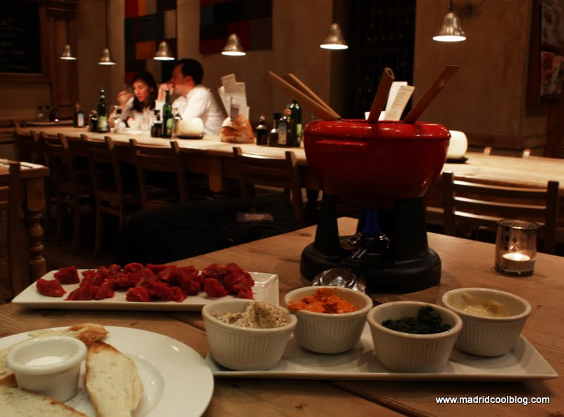 MADRID COOL BLOG LE PAIN QUOTIDIEN VELAZQUEZ fundue restaurantes encanto madrid