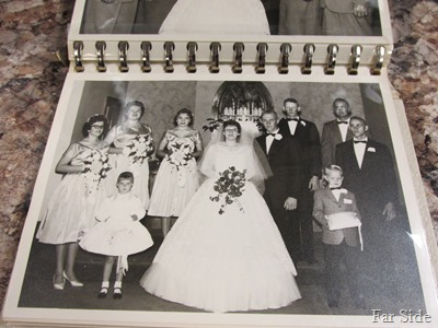 Butch and Kay wedding party 1960