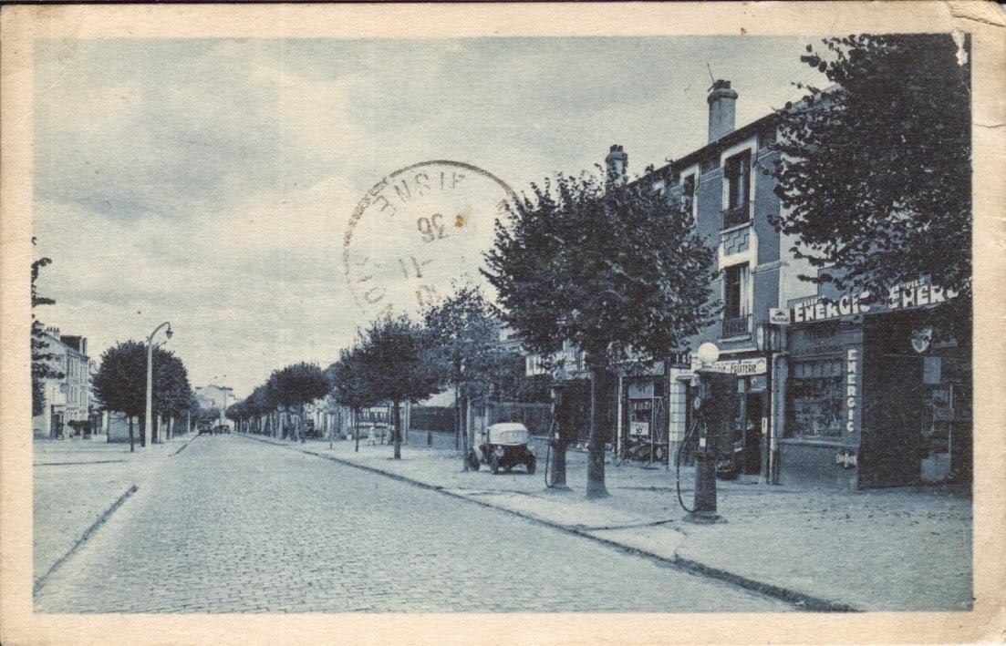 Gambetta boulevard autrefois sannois for Garage de la piscine franconville