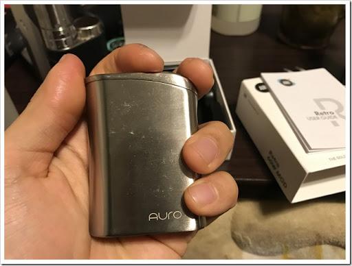 IMG 0958 thumb%25255B2%25255D - 【MOD】SMACO AURO Retro 60W TC Box Modレビュー!小さな姿のバッテリーMODの巻