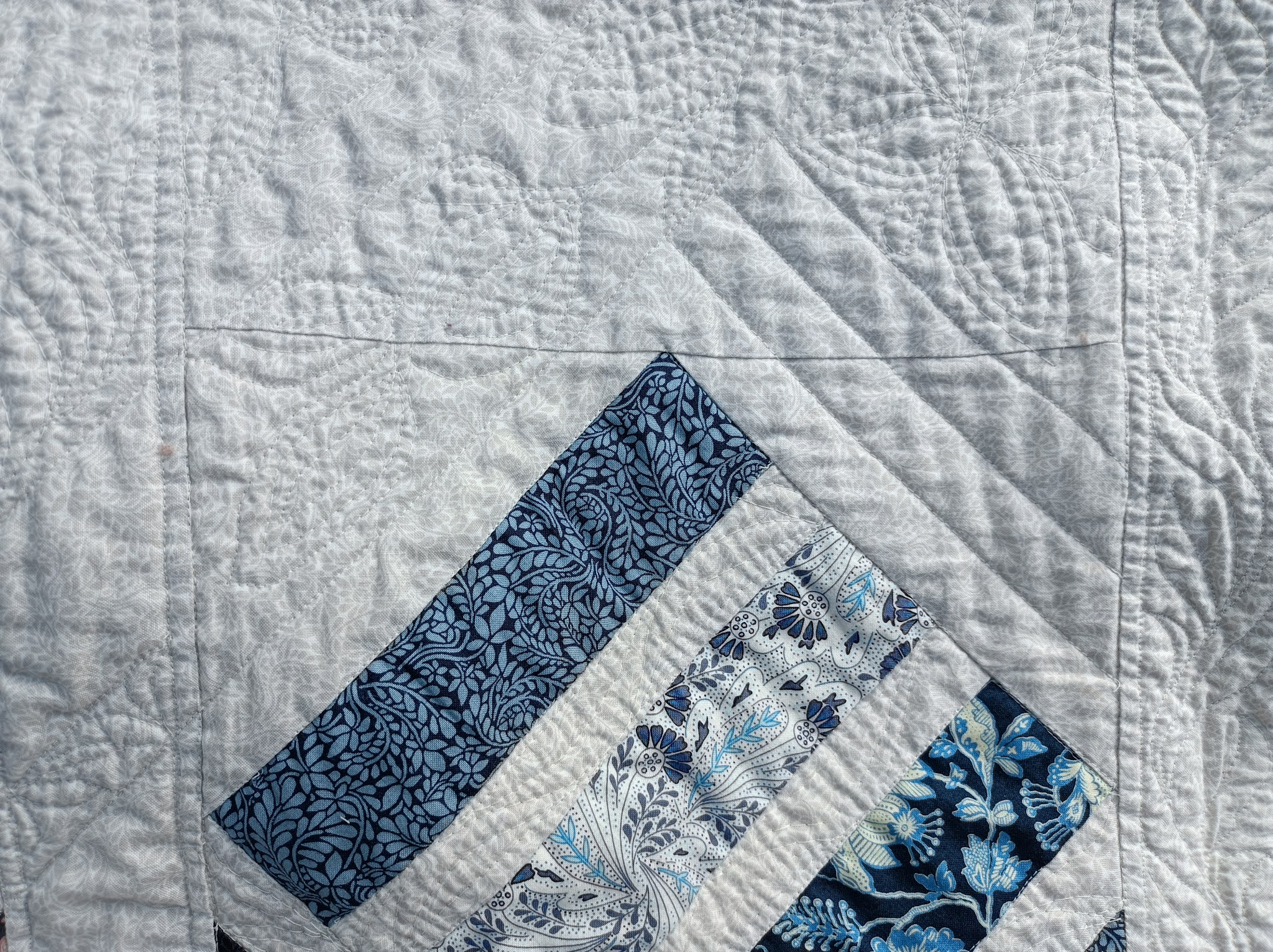 Binding a large quilt