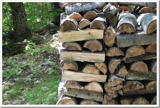 lanark woodpile