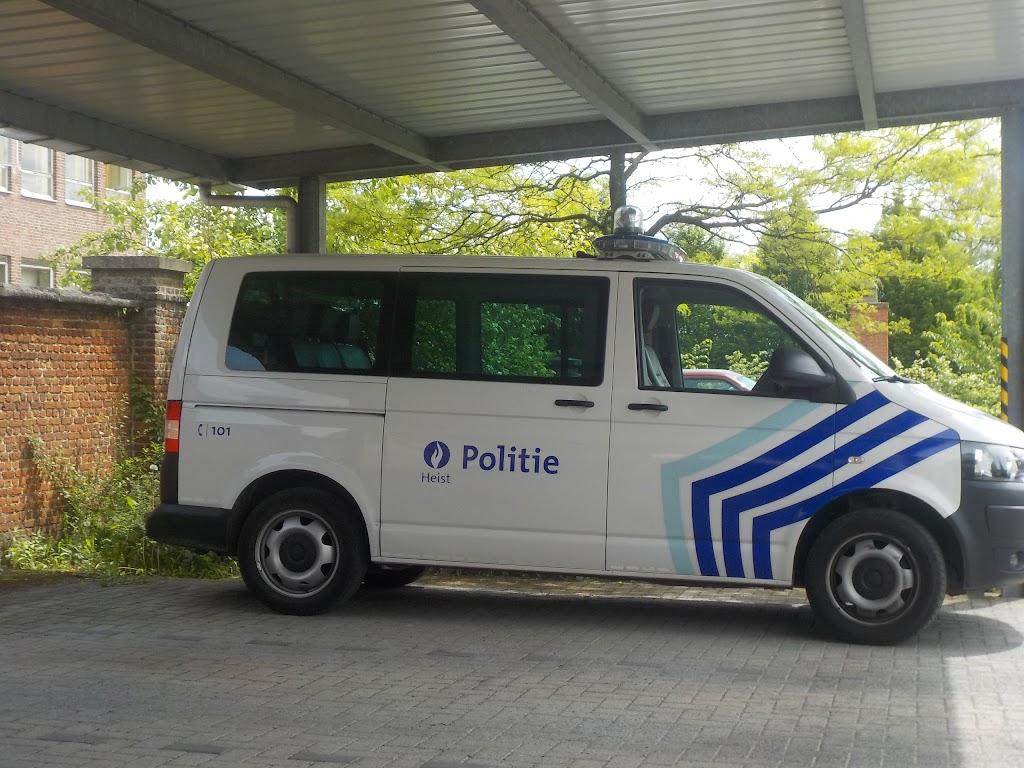 De Knetters op bezoek bij de politie - DSCN0355.JPG