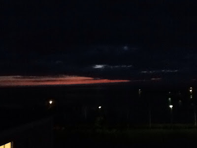 Natt över Borgholm. Ett mörker som speglar oppositionen