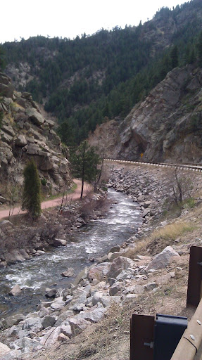 Take the Creek path up or the Canyon road which has a nice shoulder