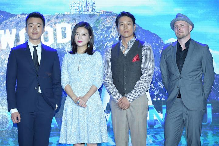 2015.06.22[Khuấy Đảo Hollywood] Họp báo công chiếu tại Thượng Hải