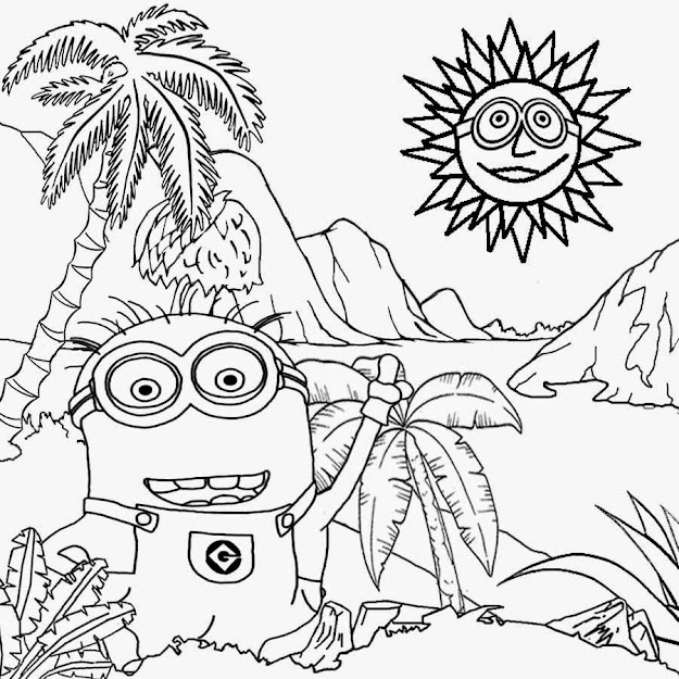 Simple Landscape Coloring Pages Free Coloring Pages Printable Pictures  To Color Kids Drawing Ideas