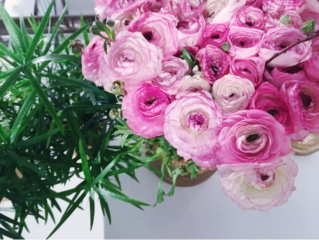 DOP beauty blog flowers pink