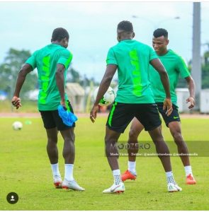 Photos From The Final Training Of Super Eagles Ahead Of Today's Match With Libya 2