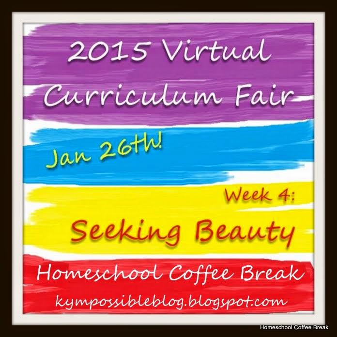 """2015 Virtual Curriculum Fair """"Seeking Beauty"""" @ kympossibleblog.blogspot.com"""