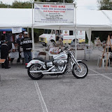 Leigh Nolan Bike Give Away At Quaker Steak and Lube