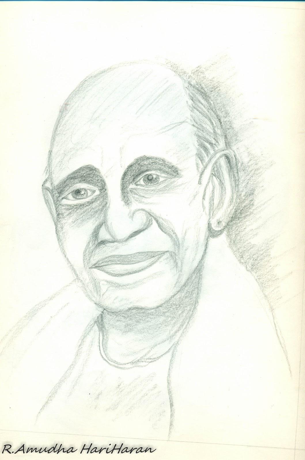 The Gallery For --u0026gt; Sardar Vallabhbhai Patel Sketch