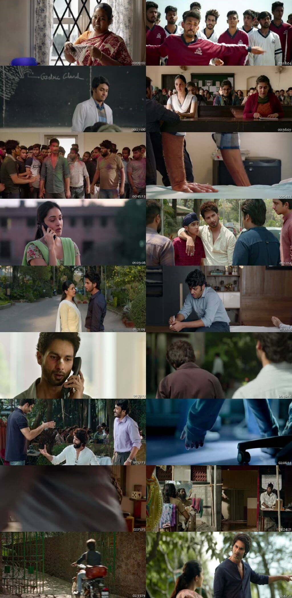 Screen Shot Of Kabir Singh 2019 Full HD Movie Free Download FHD 1080P HEVC x265 Direct Download