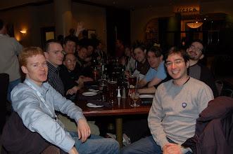 Photo: Andrew Overholt. Andrew Niefer, Dave Carver, Francis Upton, Wagenknecht, Gabriel Castro, Nick Boldt, Lynn Gayzowki and friends