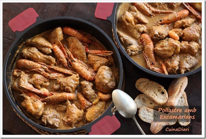 2-2-Pollastre amb escamarlans cuinadiari-ppal1