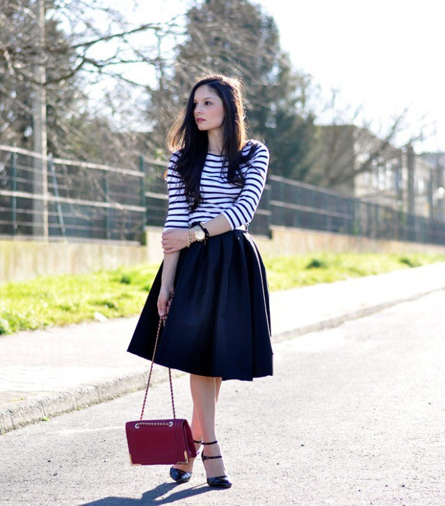 midi skirts new trend for this styles 2d